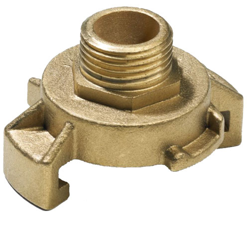 Express Male Thread Coupling - Brass