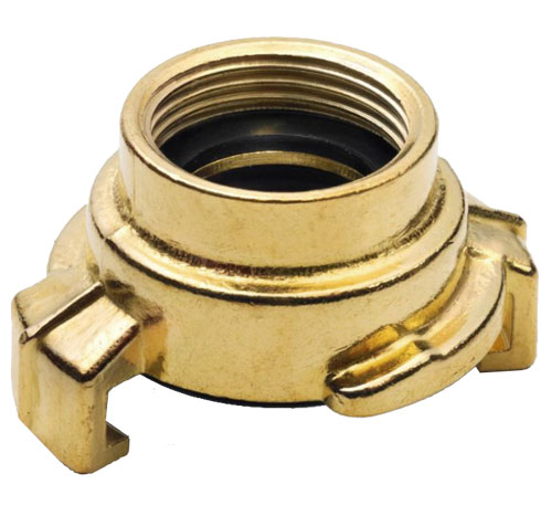 Geka DIN Express Female Thread Coupling - Brass