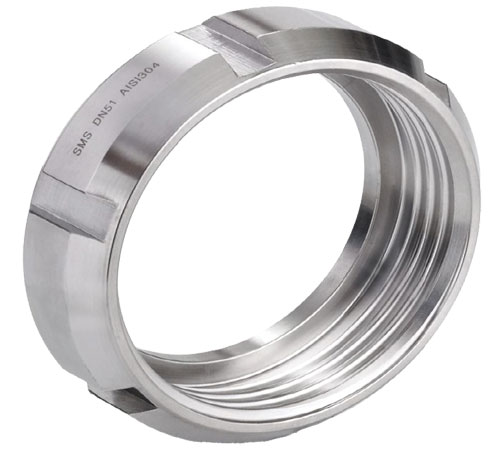 Union Nut - SS304 - For SMS Food Couplings